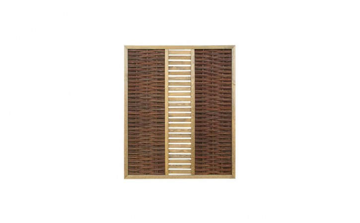 Weidenflechtzaun Feliwa Premio Plus A-Qualität 150 x 180 cm