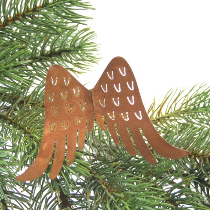 Engelflügel mit Draht 10 cm