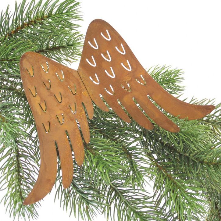 Engelflügel mit Draht 18 cm