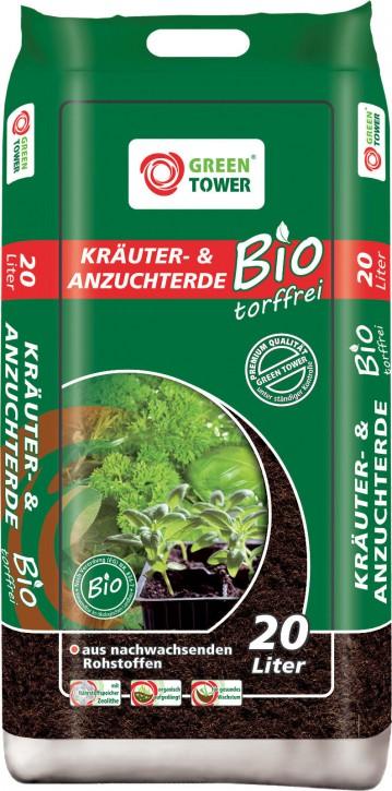 Bio Kräuter- & Anzuchterde 20 L - Torffrei