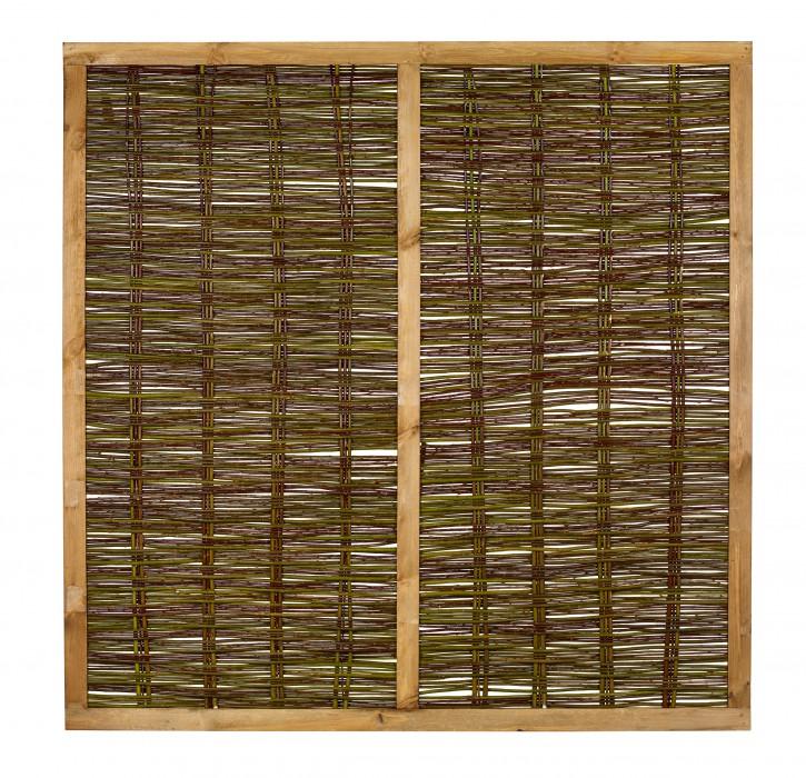 Weidenzaun Feliwa Premio A-Qualität 180 x 180 cm