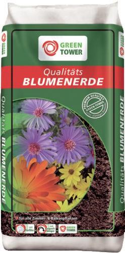 Qualitäts Blumenerde mit Perlite und Ton 20 L