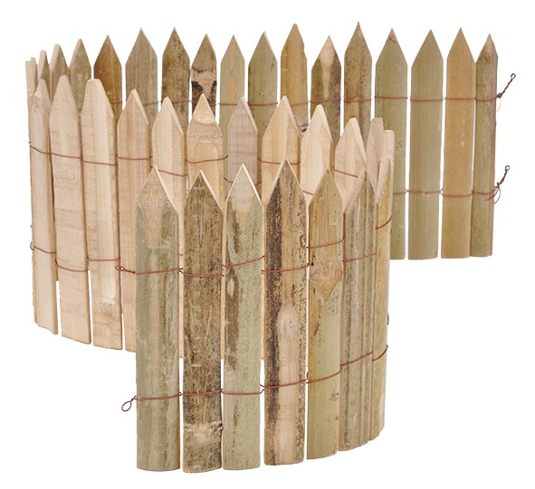 Bambus Beeteinfassung 100 x 20 cm