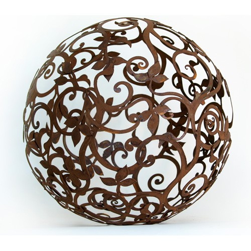Barockkugel Eisen 50 cm