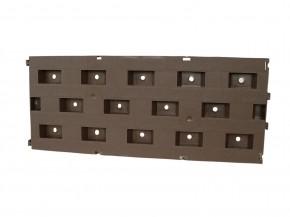 10 Beetplatten à 50 x 21 cm